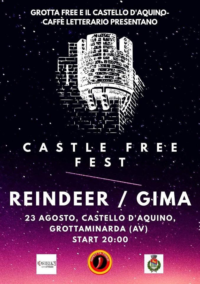 "ESTATE GROTTESE: ""CASTLE FREE FEST"" E  ""CINEMA SOTTO LE STELLE""."
