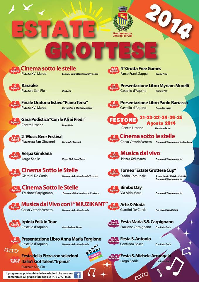 Estate Grottese 2014